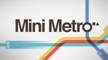 Mini Metro confirma su lanzamiento en Nintendo Switch para principios de 2018