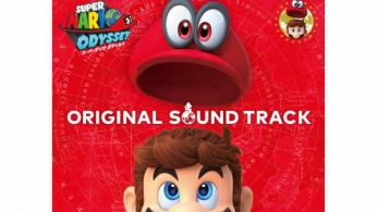 [Act.] El álbum con la banda sonora de Super Mario Odyssey llega a Japón en febrero, una selección se lanzará en iTunes en Occidente