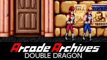 [Act.] Double Dragon de Arcade Archives llegará a la eShop de Switch la próxima semana
