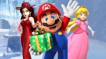 Mario dice que ama a la Princesa Peach y a Pauline, pero como amigas
