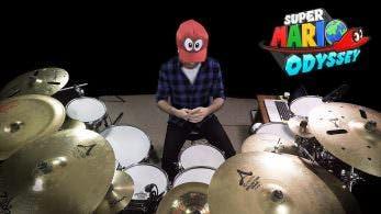 No te pierdas este genial cover con batería de Jump Up, Super Star! de Super Mario Odyssey
