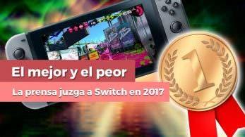 [Vídeo] El mejor y el peor juego de Nintendo Switch en 2017 según la prensa especializada