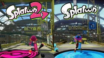 Comparativa en vídeo de Almacén Rodaballo: Splatoon 2 vs. Splatoon