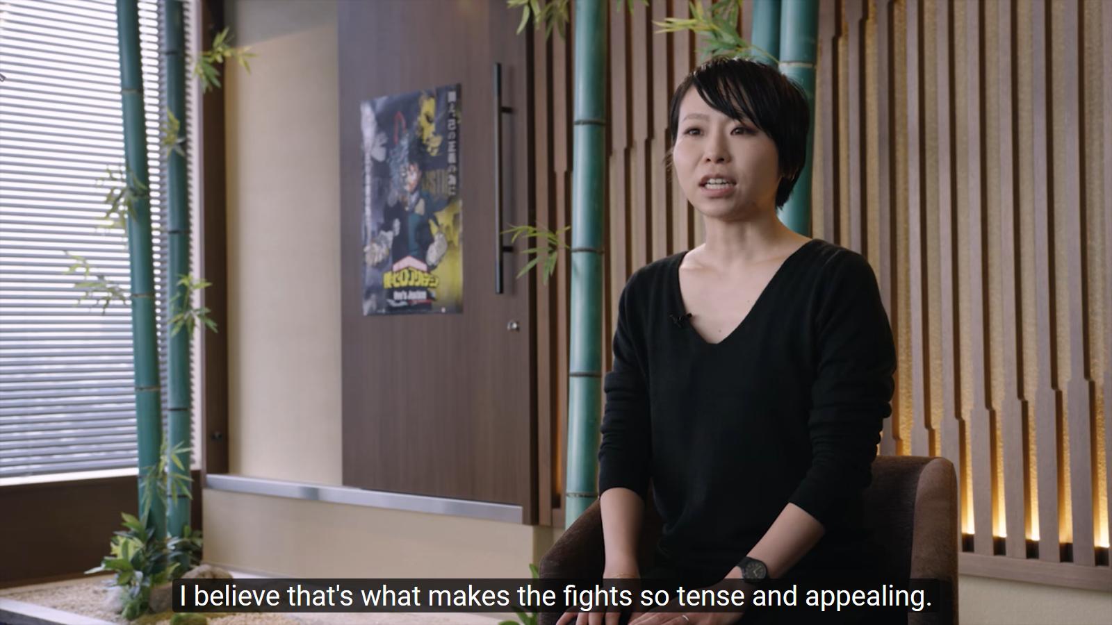 Bandai Namco entrevista a Aoba Miyazaki, productora de My Hero Academia: One's Justice