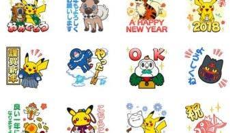 LINE recibe un nuevo pack de stickers de Pokémon para celebrar 2018