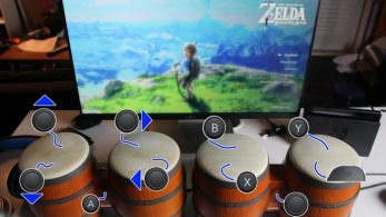 Vídeo: Así se completa Zelda: Breath of the Wild usando los bongos de Donkey Kong