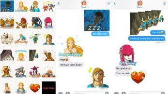 iMessage recibe nuevos stickers de Zelda: Breath of the Wild