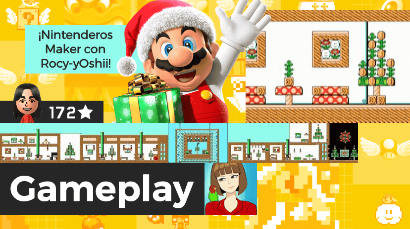 [Gameplay] Nintenderos Maker #98: Mario is Santa Claus!