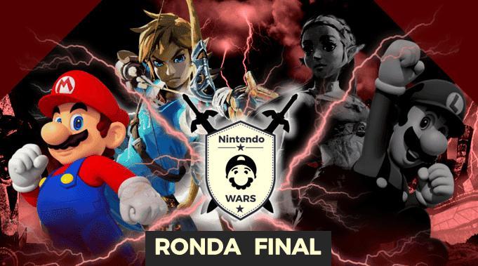 Ronda Final de Nintendo Wars: ¡Link vs. Mario!