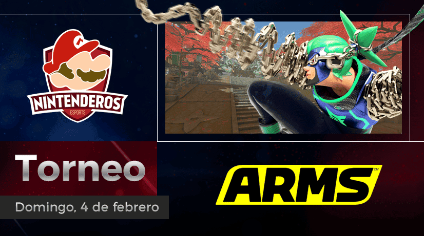 Torneo ARMS | Puños arriba