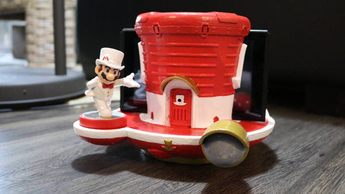 Este es el dock para Nintendo Switch ideal para los fans de Super Mario Odyssey