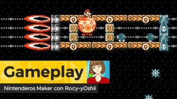 [Gameplay] Nintenderos Maker #95: De la Tierra a la Luna