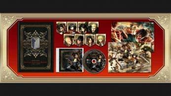 Esto es todo lo que incluyen la Treasure Box y la Limited Edition de Attack on Titan 2 para Switch