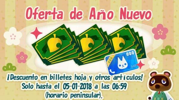 Novedades en Animal Crossing: Pocket Camp: Oferta de Año Nuevo, billetes hoja de regalo y más