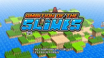 Tráiler de lanzamiento occidental de Ambition of the Slimes para Nintendo Switch