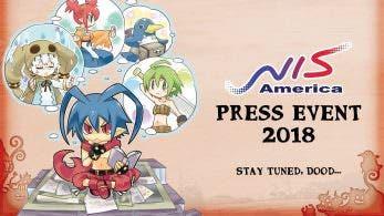 NIS America anuncia un nuevo evento de prensa para el próximo mes
