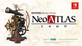 Neo Atlas 1469 para Switch confirma su lanzamiento en Occidente