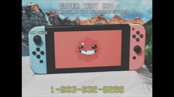 No te pierdas este vídeo promocional retro de Super Meat Boy para Nintendo Switch