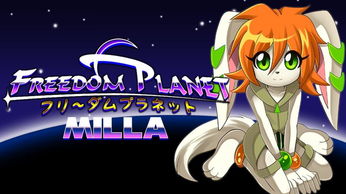 Freedom Planet recibe una nueva actualización en Wii U que añade el modo Milla's Adventure