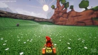 Recrean el juego de carreras Diddy Kong Racing 64 con Unreal Engine 4