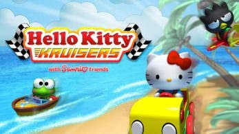 Hello Kitty Kruisers se lanzará en Switch en formato digital y físico el 26 y el 27 de abril respectivamente