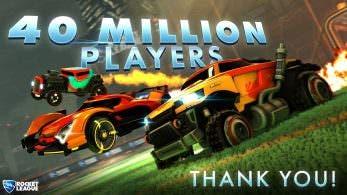 Rocket League alcanza los 40 millones de jugadores en todo el mundo