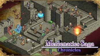 [Act.] Mercenaries Saga Chronicles llega a la eShop europea y americana de Nintendo Switch el 8 de febrero