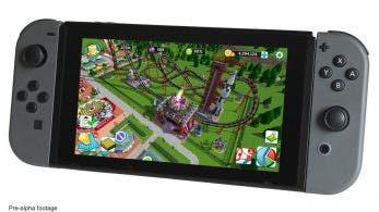 RollerCoaster Tycoon Adventures llega a Nintendo Switch a finales de 2018