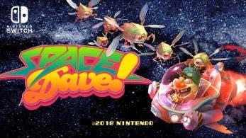 Space Dave! para Nintendo Switch llega a Europa el 20 de febrero