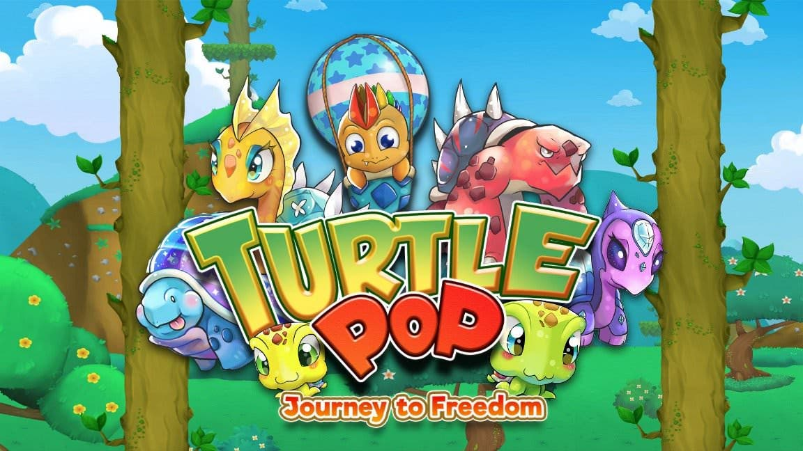 [Act.] Zengami y DigiPen Game Studios anuncian TurtlePop: Journey to Freedom para Nintendo Switch