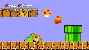 Arcade Archives Vs. Super Mario Bros. vuelve a ser lo más descargado de la semana en la eShop de Switch (20/1/18)