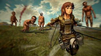 Attack on Titan 2: biografías de personajes, modos en línea, personalización de personajes y más