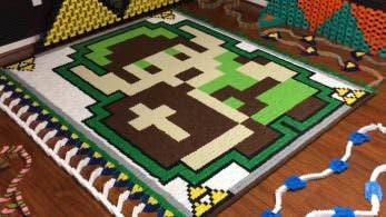 No te pierdas este tributo a The Legend of Zelda creado con más de 21.000 fichas de dominó