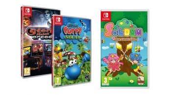 Meridiem Games lanzará Super Putty Squad, Stern Pinball Arcade y Soldam para Switch en físico el próximo mes