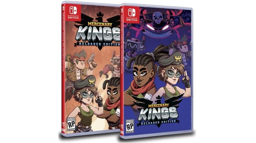 [Act.] Limited Run Games también lanzará Mercenary Kings en Nintendo Switch