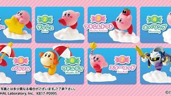 Estas adorables figuras coleccionables de Kirby llegarán a Japón el 23 de febrero