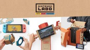 IGN rectifica: Nintendo no ofrecerá patrones de Nintendo Labo de forma gratuita