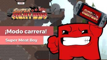 [Vídeo] Un vistazo al exclusivo modo carrera de Super Meat Boy para Nintendo Switch