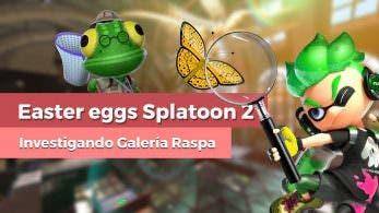 [Vídeo] Easter eggs y curiosidades de Galería Raspa de Splatoon 2