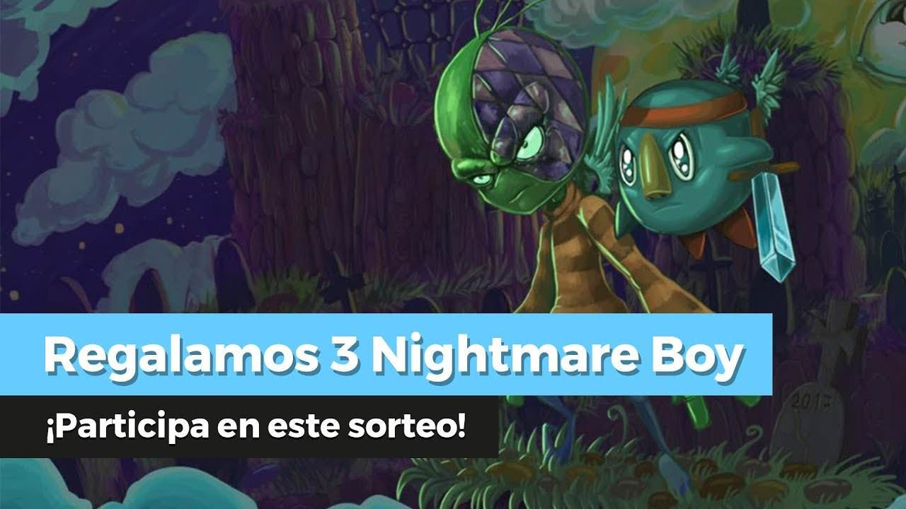 ¡Sorteamos 3 copias de Nightmare Boy para Nintendo Switch en YouTube!