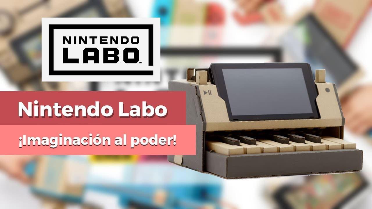 [Vídeo] Analizamos al detalle Nintendo Labo, la reinvención de los juguetes por parte de Switch