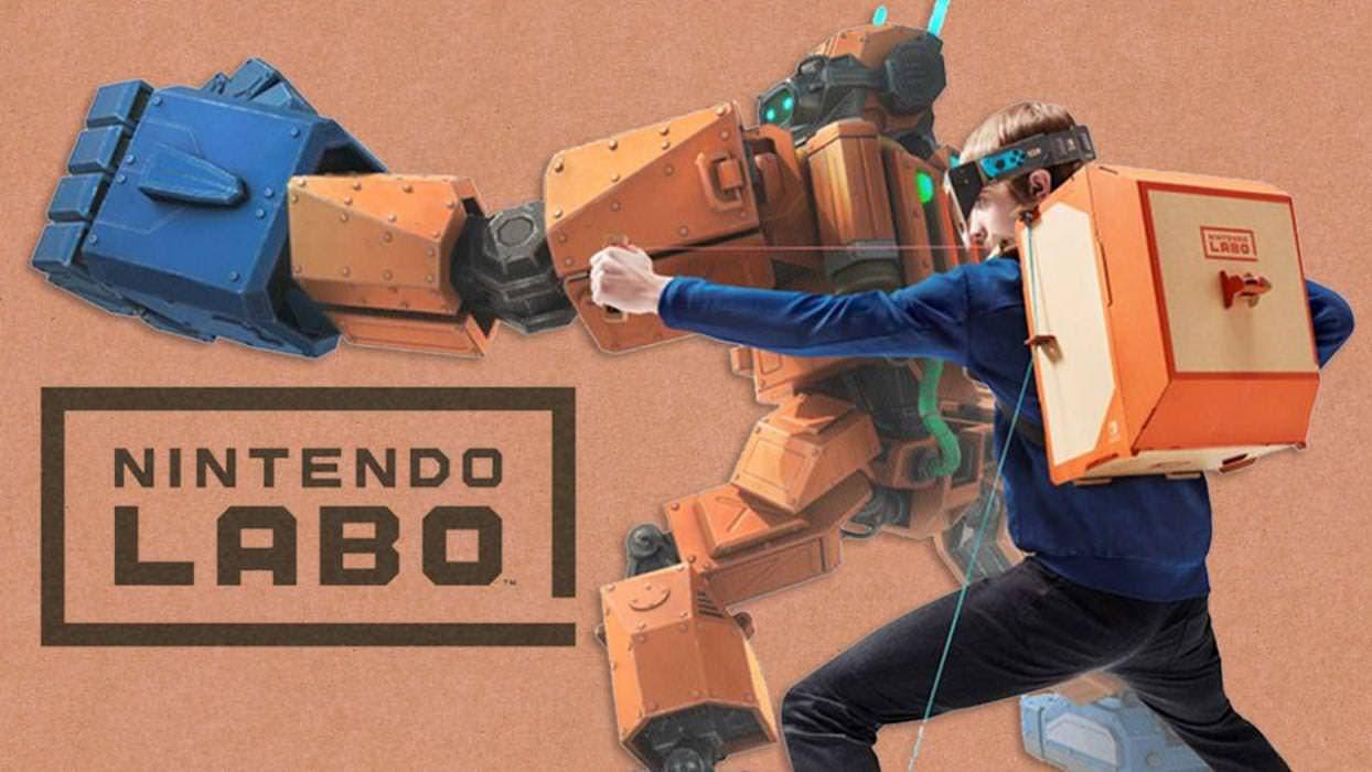 Los kits de robot y vehículos de Nintendo Labo se actualizan a la versión 1.1.0