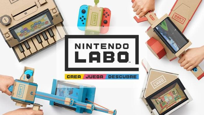 Nintendo Labo parece estar vendiendo como pan caliente en Amazon