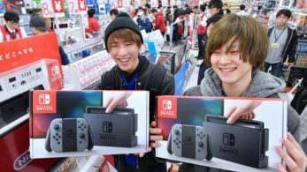Nintendo afirma que la escasez de Switch en Japón casi ha terminado