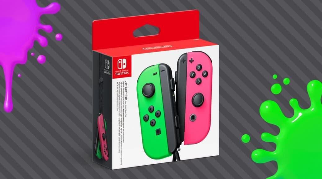 [Act.] Nintendo confirma oficialmente el lanzamiento de los Joy-Con verde y rosa neón en América
