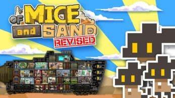 [Act.] Of Mice and Sand: Revised aparece listado para el 11 de enero en la eShop de Switch