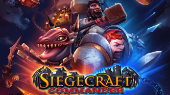 Blowfish Studios comparte una imagen de Siegecraft Commander en Nintendo Switch