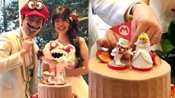 Las bodas al estilo Super Mario Odyssey ya son una realidad en Japón