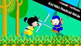 [Act.] Los clásicos de NeoGeo World of Heroes 2 y Kid Niki: Radical Ninja llegan a Switch la próxima semana