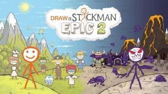 [Act.] Draw a Stickman: EPIC 2 confirma su lanzamiento en Nintendo Switch